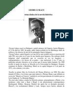 Lukacs- La Forma Clasica de La Novela Historica
