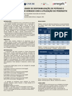 Estudo Da Viabilidade de Disponibilização de Potássio e Fósforo (ACA) 2013