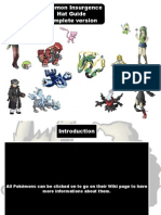 Pokemon Insurgence Complete Hat Guidepdf