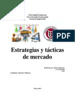 Ensayo de Estrategias y Tacticas de Mercadeo PDF