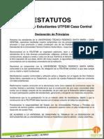 Estatutos FEUTFSM - 2014