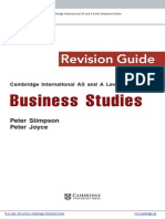 Business Studies (Intro)