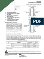 Datasheet L293D Moter Driver
