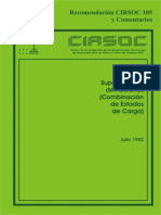 Recomendacion Cirsoc 105 y Comentarios