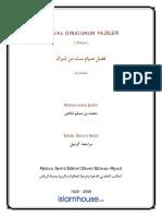 ŞEVVAL ORUCUNUN FAZİLETİ = Ebu Abdulmumin Tekin Mıhçı =.pdf