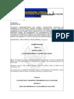Sp Slv Constitucion de La Republica de El Salvador (1983)