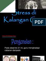 Stres Dalam Kalangan Guru