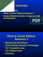 Ocean Bottom Seismics