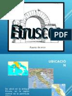 historia de la arquitectura - Etruscos