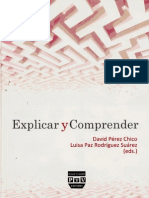 Explicar y comprender David perez chico