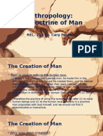 The Doctrine of Man