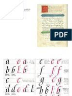 Caligrafía Italica
