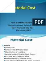 Elements of Cost - Material Cost (Ppt - 07)(Cut)