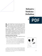 Defensive Medicine (File Dr. Icha)