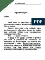 Apostila de Português EJA