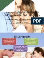 Tecnicas Desarrollo Lenguaje en El Bebe