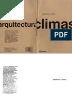 Arquitectura y Climas Rafael Serra