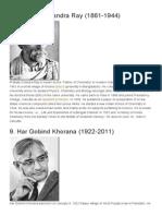 Top 10 Indian Scientists