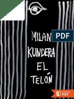 El Telon - Milan Kundera