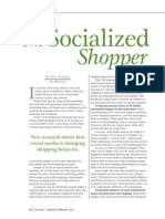 The Socialized Shopper