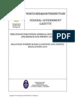 Mrb Regulations 2014