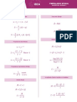Formulario Matematica Aplicada 1 1