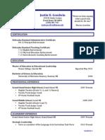 archival resume