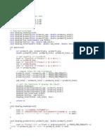 Program Softcopy