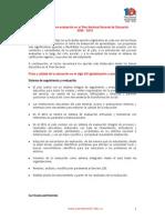 Aportes Sobre Evaluación en El Plan Nacional Decenal de Educación