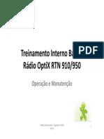 Treinamento Básico Optix RTN 910950
