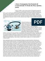 T5 RXD - Clinica de Forca Termogenico Fat-Formula de Reducao. Altamente Concentrado T5 Perda De Peso, Queima De Gordura Suplementar