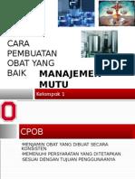 CPOB 2006 Manajemen Mutu.ppt