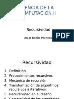 Recursividad SM