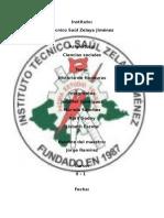 Informe de Hostoria de Honduras