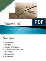 trauma 101 powerpoint presentationv1