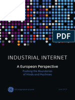 Industrial Internet A European Perspective