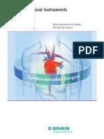 Doc 719 Micro Instruments Cardiovascular Surgery