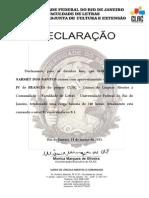 Declaração - Gabriela Ramo