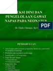 Deteksi Dini Dan Pengelolaan Gawat Napas Pada Neonatus