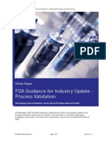 White Paper FDA Process Validation Guidance Update