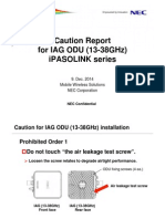 Caution Report IAG Install