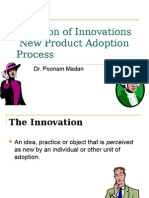 Innovation Diffusion and Adoption Process