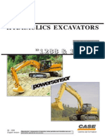 Case Hydraulic Excavators Poclan 1288 & 1488C Shop Manual