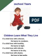 Preschool Social Personality Development 112