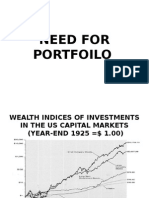 Portfolio-Need and Construction