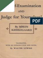 Kierkegaard, S - For Self-Examination (Princeton, 1944)