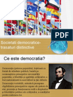 Societati Democratice-trasaturi Distinctive