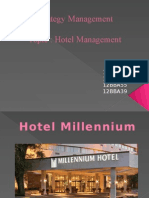 Strategy Management for Hotel