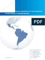 Insurance Solvency Regulation in Latin America