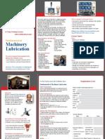 Machinery Lubrication Brochure E